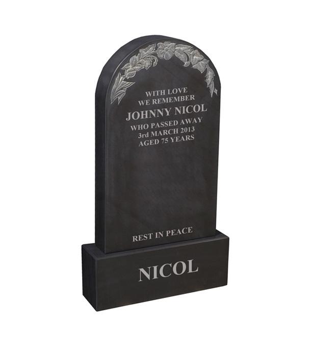 Churchyard Memorials Nicol