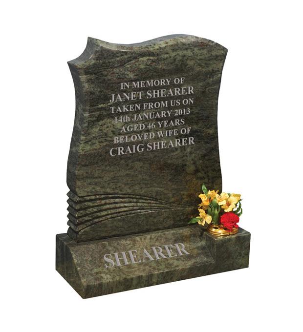 Lawn Memorials Shearer