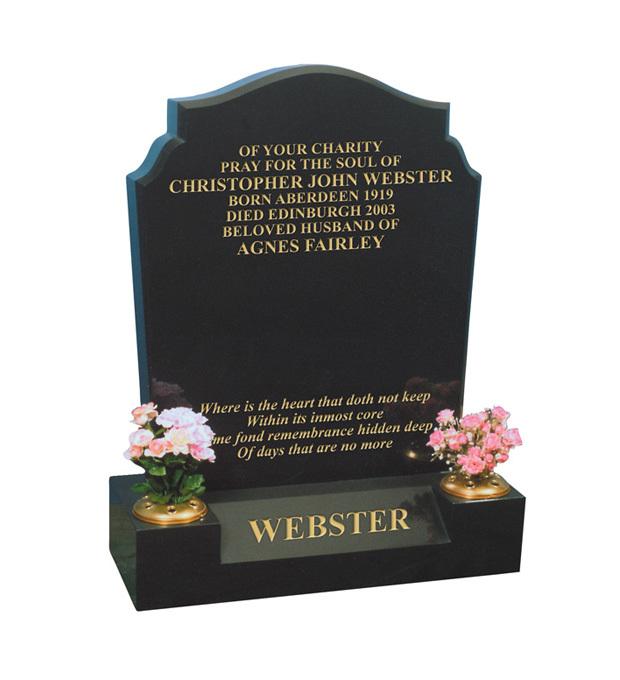 Lawn Memorials Webster
