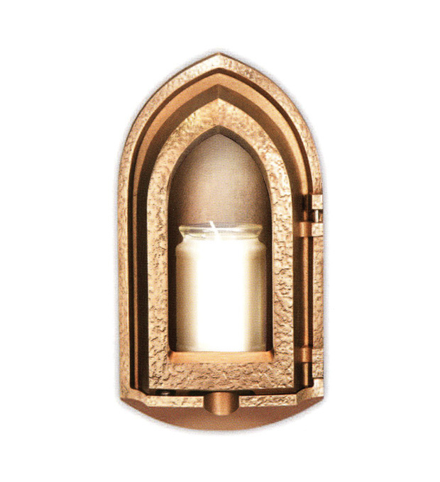 Memorial Attachments Recessed Lantern