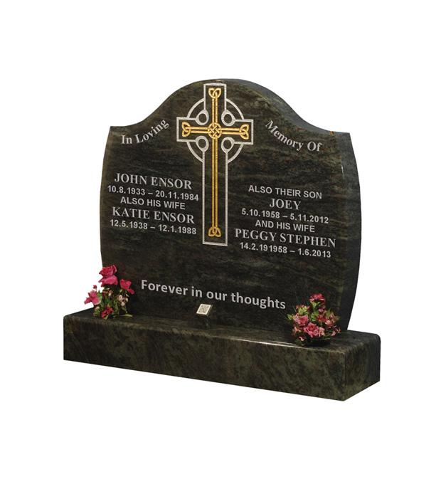 Double Grave Memorials Ensor
