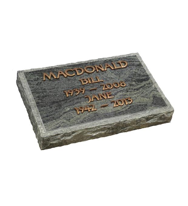 Marker Memorials Macdonald