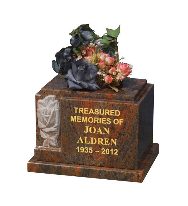 Vase Memorials Aldren