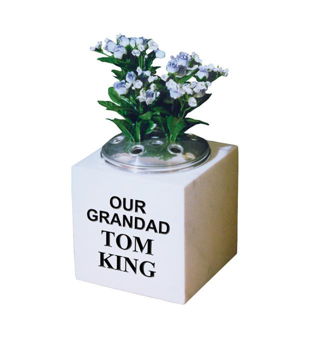 Vase Memorials King