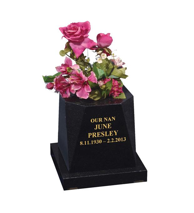 Vase Memorials Presley
